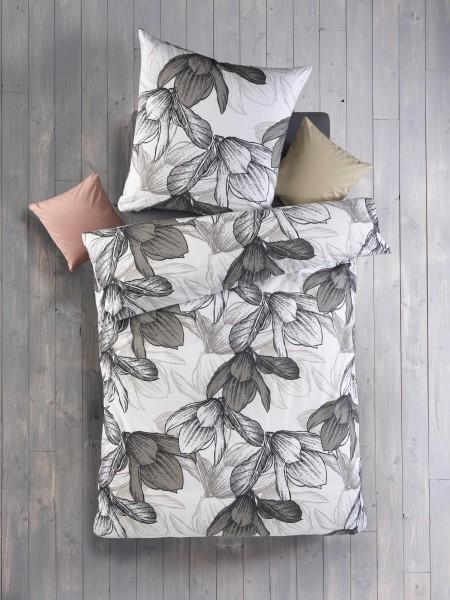 Renforcé Bettwäsche Miriam 135x200 cm Blüten