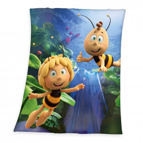 Fleece Decke Biene Maja 130x160 cm