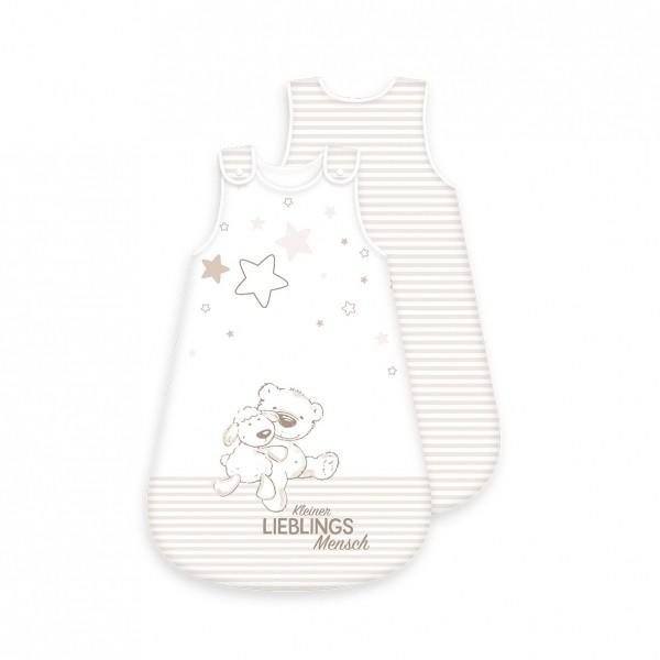 Ganzjahres Baby-Schlafsack Lieblingsmensch