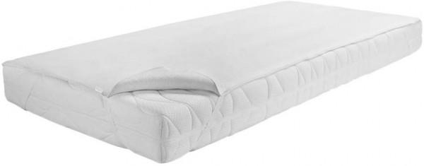 Dormisette Q70 Premium Matratzenauflage 90x200 cm Wasserdicht und atmungsaktiv, Baumwolle/Reinweiß
