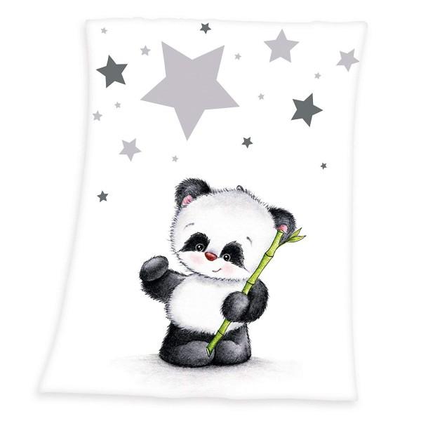 Flausch Decke 75x100 Panda