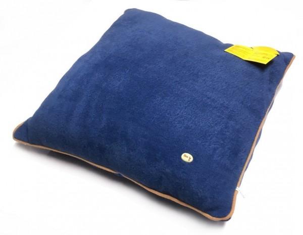 Sunkid Plüschkissen Quadrat Blau