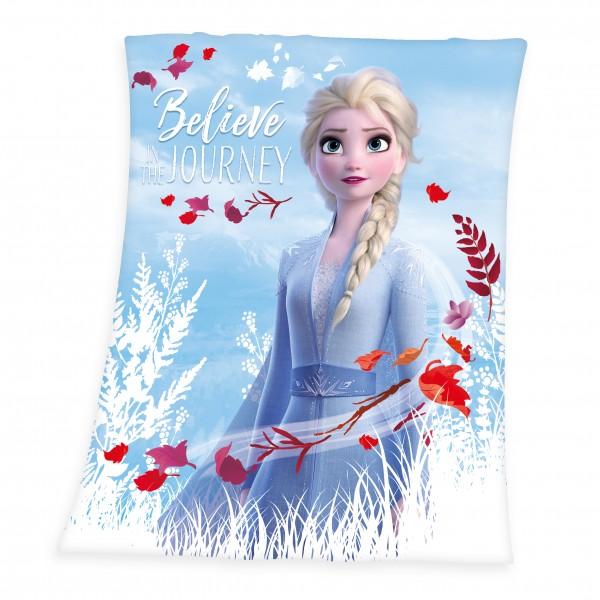Die Eiskönigin 2 Fleece Decke 130x160 cm Elsa