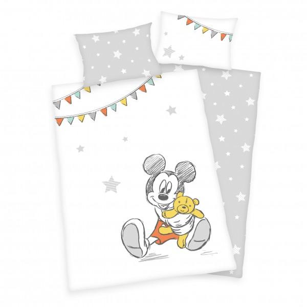 Bettwäsche Mickey Mouse Bear 40x60 100x135 cm