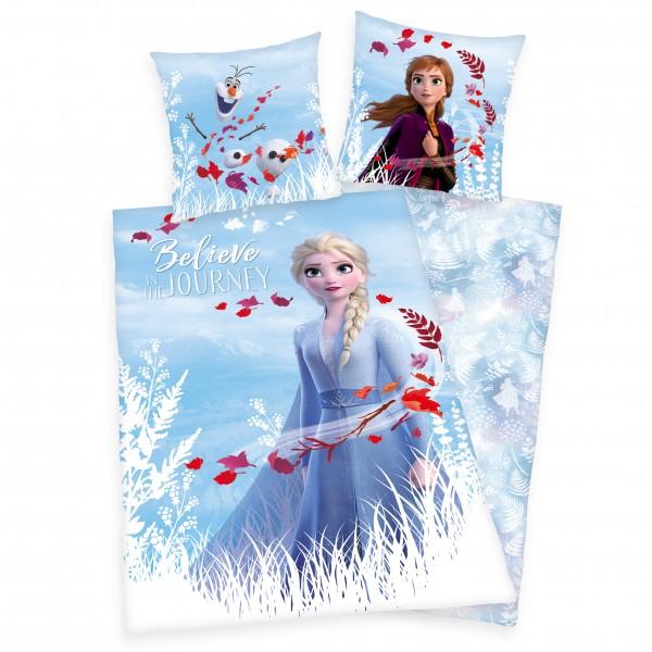 Bettwäsche Die Eiskönigin 2 80x80 135x200 cm Elsa