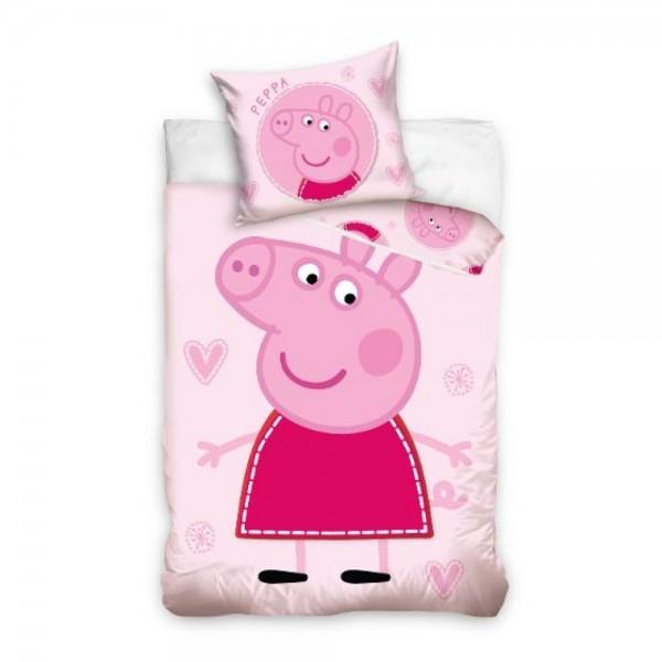 Bettwäsche Peppa Pig Solo 40x60 100x135 cm