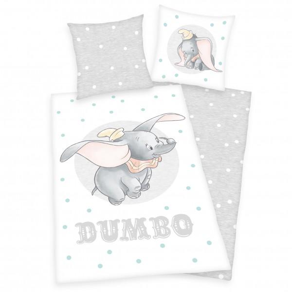Bettwäsche Disney's Dumbo 80x80 135x200 cm Renforcé