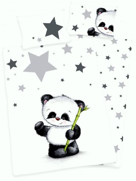 Bettwäsche Panda 40x60 100x135 cm
