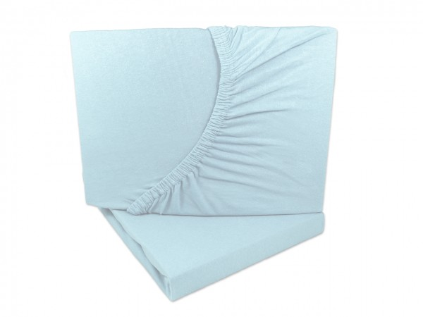 Doppelpack Jersey Spannbettlaken 60x120 - 70x140 cm