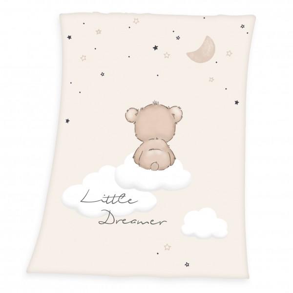 Soft Peach Decke 75x100 Little Dreamer
