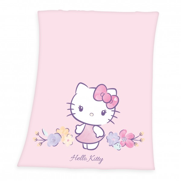 Fleece Decke Hello Kitty 130x160 cm
