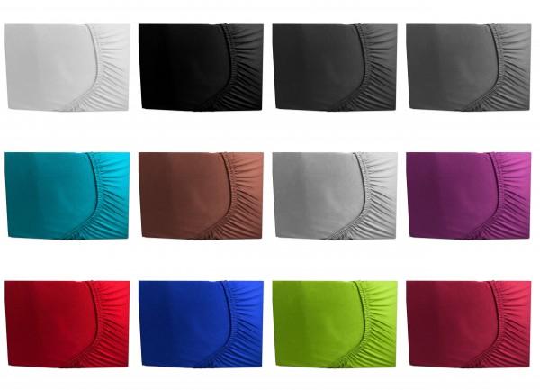 Microfaser Spannbettlaken 90x200 - 100x200 cm