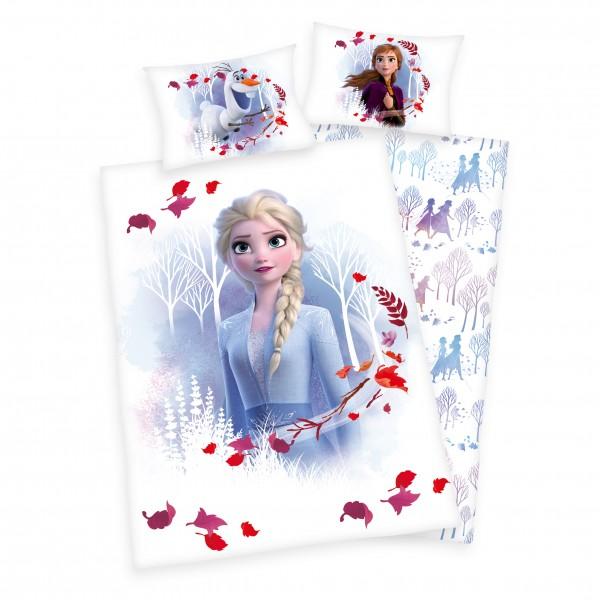Bettwäsche Disney's Die Eiskönigin 2 40x60 100x135 cm