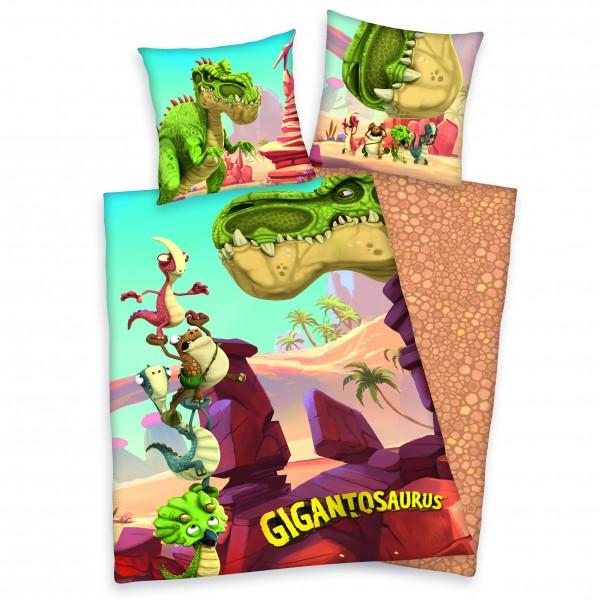 Gigantosaurus Bettwäsche 80x80 135x200 cm